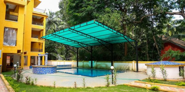 Casa Candolina Goa (Service Apartment in Goa for rent) - Pool View