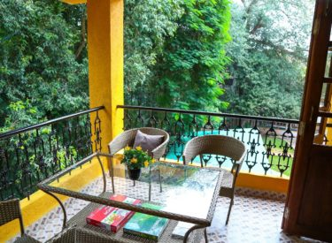 Casa Candolina Goa (Service Apartment in Goa for rent) - Terrace
